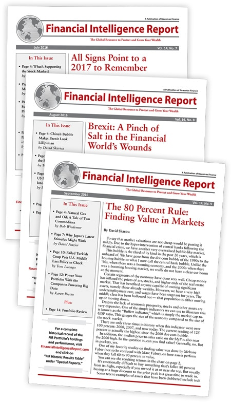 The Financial Intelligence Report